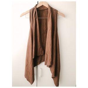 Other - Camel color Swede vest